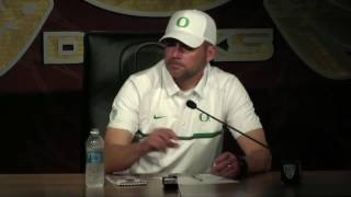 Mark Helfrich says his team did not give up against Stanford