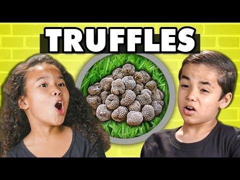 KIDS TRY TRUFFLES! (Fungus) | Kids Vs. Food