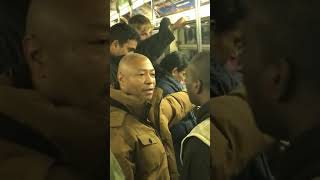 Subway Fight In New York City!