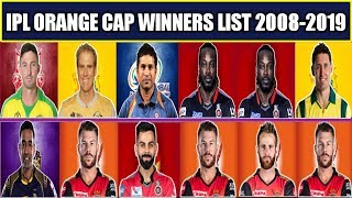 IPL Orange Cap Winners List From 2008-2019 | IPL All Orange Cap Winners List | Most Runs in IPL |