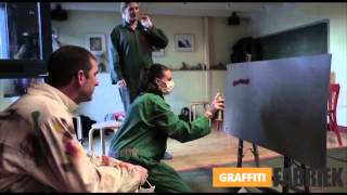 graffiti-fabriek - workshop graffiti afdelingsuitje Leiden