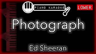 """Piano karaoke instrumental for """"photograph"""" by ed sheeran (3 semitones lower)you can now say thank you and buy me a coffee! ☕️it will allow to keep bringi..."""
