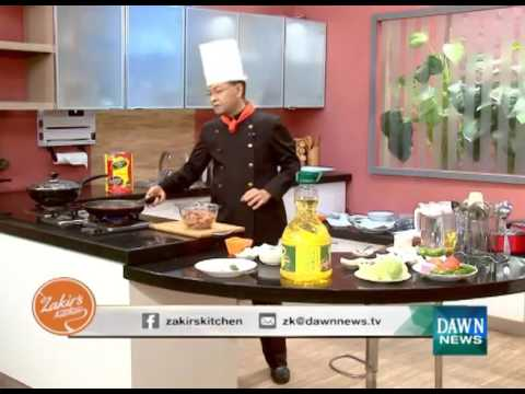 Chef Zakir S Kitchen Recipes January 5 2016 Dawn News Tv
