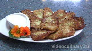Оладьи из кабачков - Рецепт Бабушки Эммы