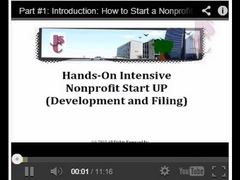 Part#9: Filing For Tax Exempt Status With Franchise Tax Board: How To Start Up A Nonprofit