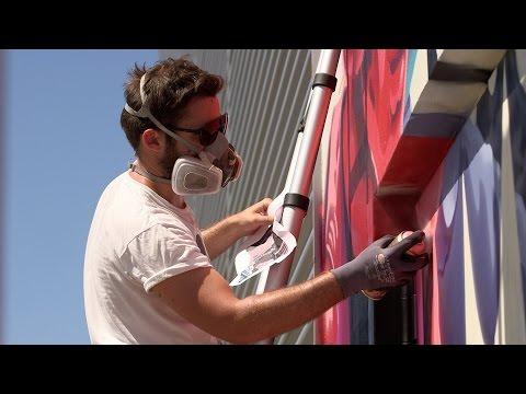 Closer Look: EU Studio Graffiti Artwork