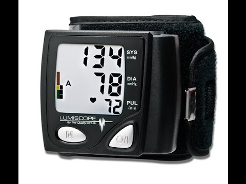 Lumiscope® Automatic Wrist Blood Pressure Monitor