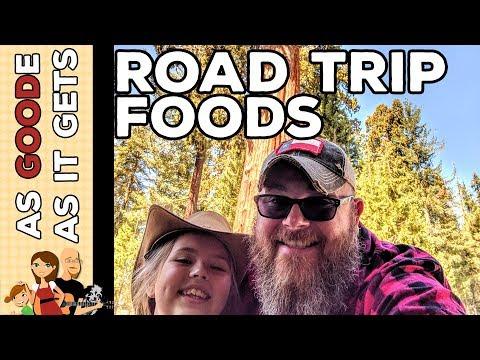 Our Favorite Road Trip Foods // Visiting General Sherman In Sequoia National Park // RV Living