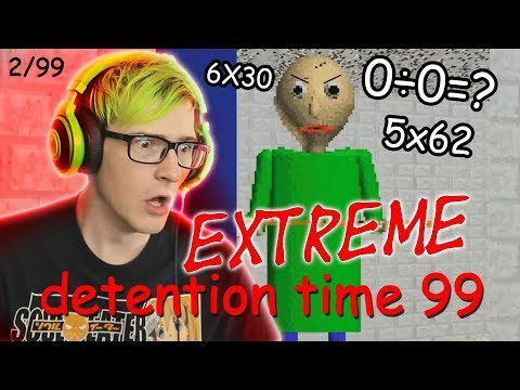 Baldi EXTREME Difficulty Mode?! | Baldis BRUTAL Basics In Education And Learning MOD