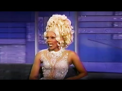 Arsenio Hall Show - Rupaul interview c. 1993