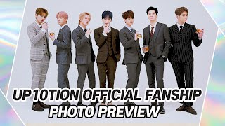 UP10TION OFFICIAL FANSHIP PHOTO PREVIEW