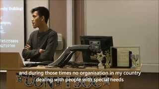 Islam And Disability : Br. Muhammad Zulfiqar Rahmat