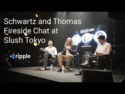 David Schwartz and Stefan Thomas Fireside Chat at Slush Tokyo 2018