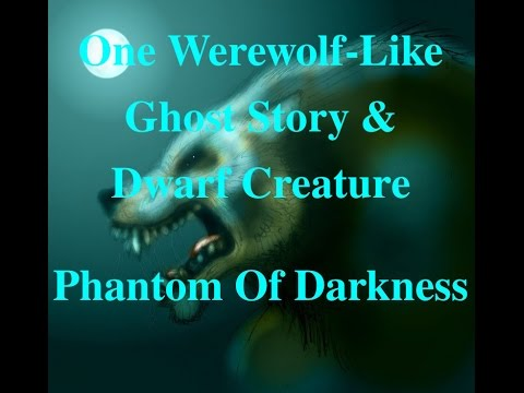 Another Wolf-Humanoid Spirit & Creepy Toy Puppet (ghost story)