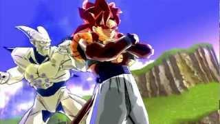 Gogeta SSJ4 vs Omega Shenron Dragon Ball Z Budokai 3 HD Collection【HD】