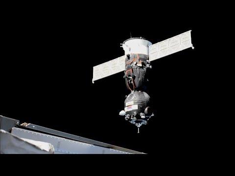 Soyuz MS-11 docking