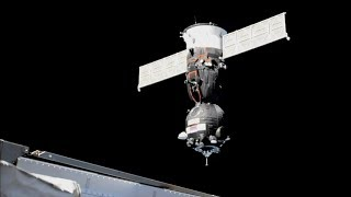 Soyuz MS-11 docking