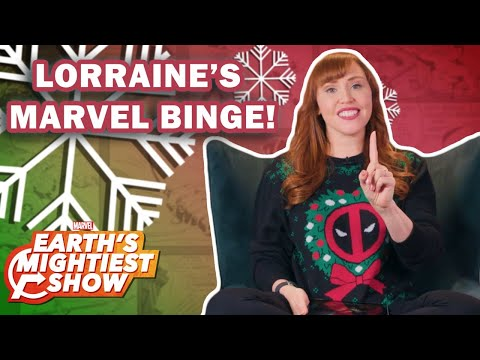 What to Binge Over the Holidays with Lorraine Cink | Earth's Mightiest Show Bonus