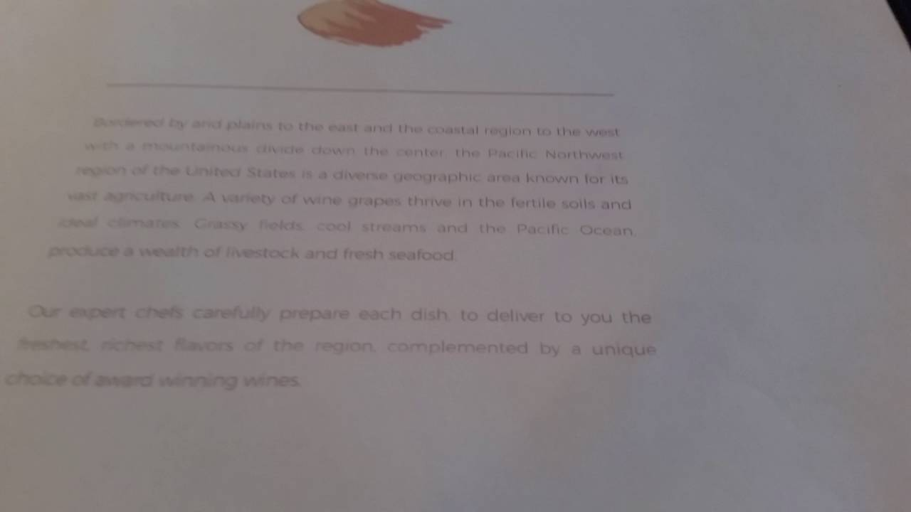 Pinnacle Grill Menu 2016 Holland America Specialty Restaurant