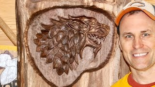 DIY DIREWOLF - Advanced Carving Techniques and Stop Motion Video Production