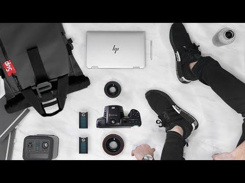 My 2019 Tech Bag ft. HP Spectre x360