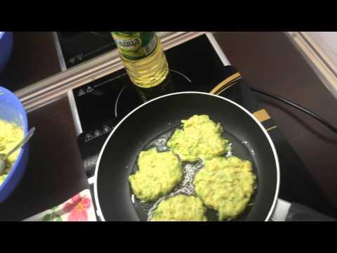 (37)   Оладьи из кабачков. Рецепт для диабетиков.