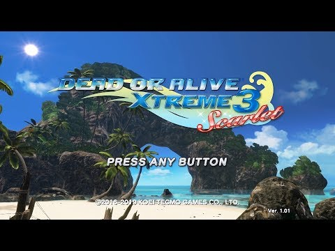 DEAD OR ALIVE Xtreme 3 Scarlet - 45 Minute Playthrough [Switch]