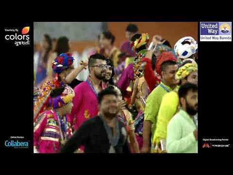 United Way Baroda - Garba Mahotsav With Atul Purohit - Day 1 - Live Stream