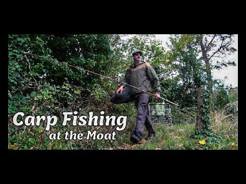 Another Afternoon At The Moat - Carp Fishing
