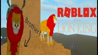 Simba has a brother called Zimba?! I ROBLOX LION KING ROLEPLAY I Rebeccas Creations