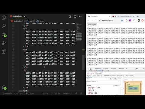 Coding A Modal Using Javascript, HTML, And CSS