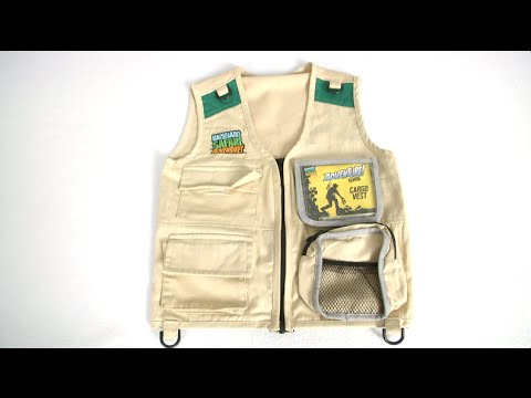 Backyard Safari Adventures Cargo Vest from Alex Brands ...