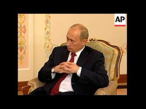 Uzbek leader Karimov says Andijan uprising was planned abroad