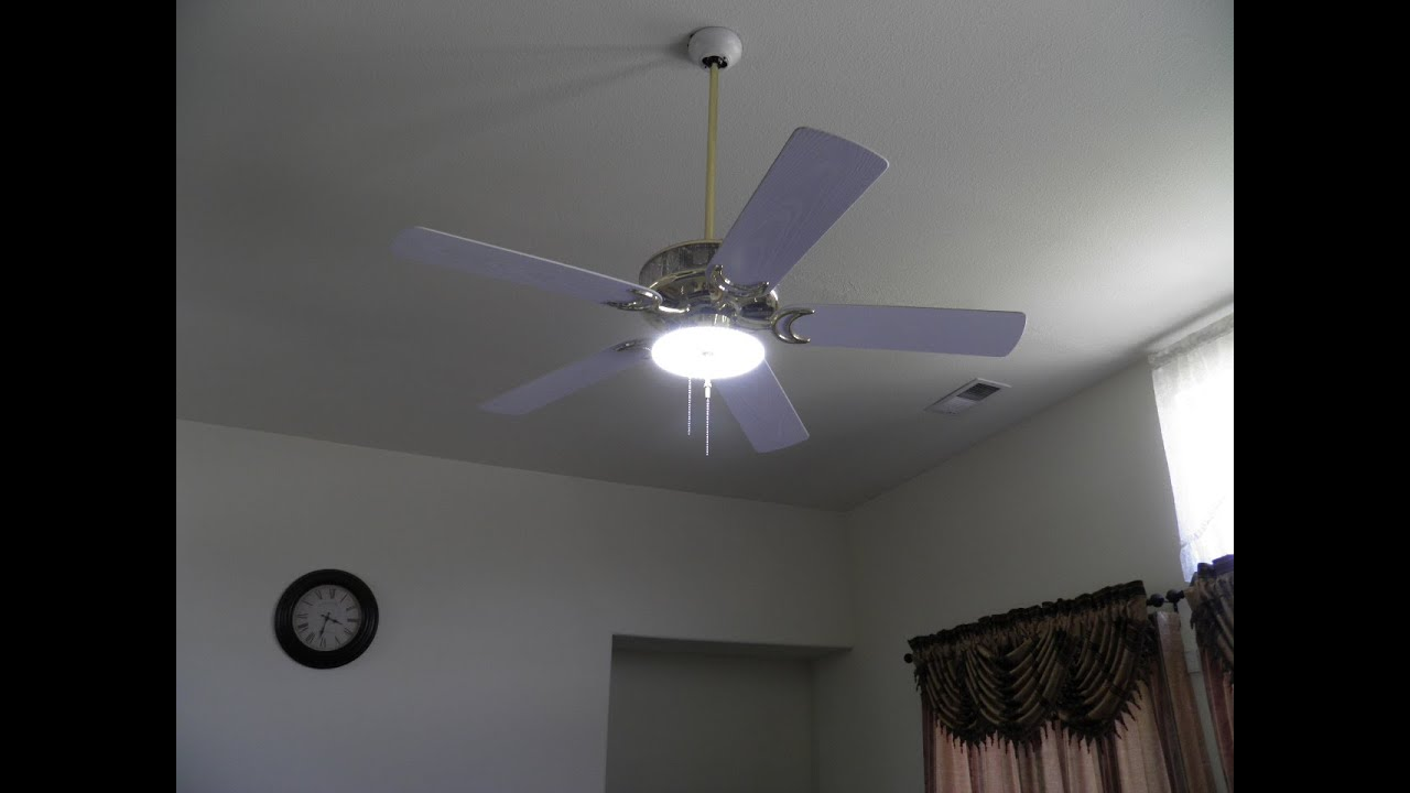 Led light for ceiling fan conversion part 3 of 6 youtube aloadofball Gallery