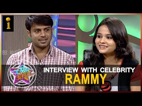 Star Talkies Special  Interview With Cinematographer Rammy || Interactive TV