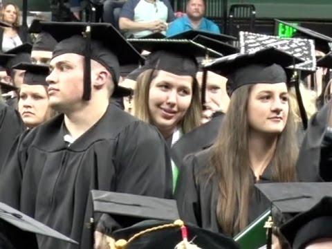 New Graduates Earn Degrees At Bemidji State University's 98th Commencement