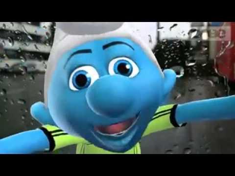lustige schlumpf videos