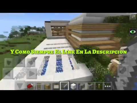 Mapa Casa Moderna Para Minecraft Youtube