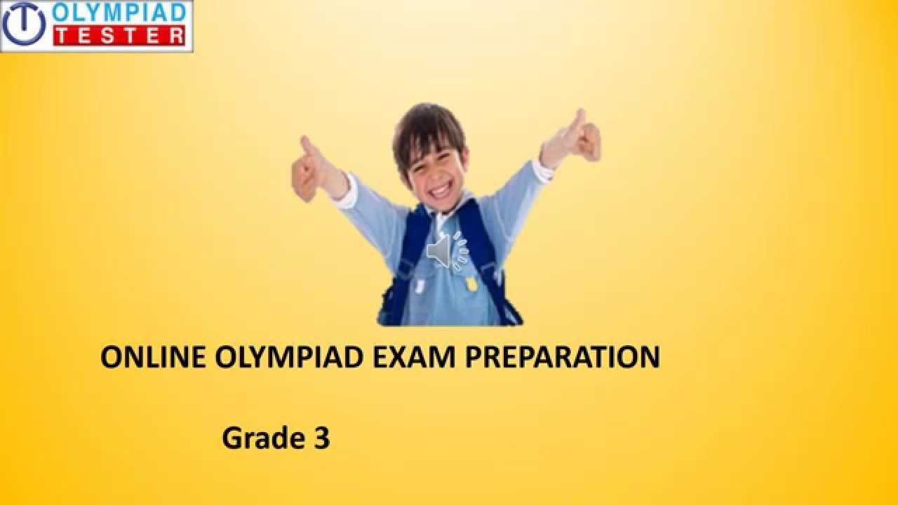 Class 3 - Olympiad exam preparation courses in Maths, Science ...