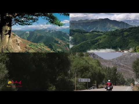 MOTORBIKE TOURING ON THE VIA DE LA PLATA ROUTE (ESPAÑA - SPAIN)