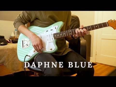 Daphne Blue // The Band CAMINO (Guitar cover by Joey)
