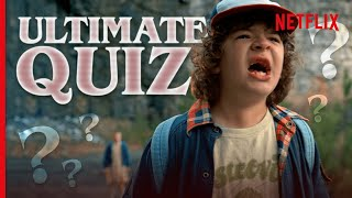 Only 1% Of Stranger Things Fans Will Get 100% In This Quiz. Can You? | Netflix