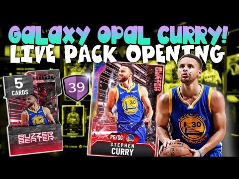 GALAXY OPAL STEPHEN CURRY PACK OPENING! NBA 2K20 MYTEAM BUZZER BEATER PACKS