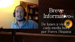 Breve informativo - Noticias Forex del 1 de Septiembre 201720
