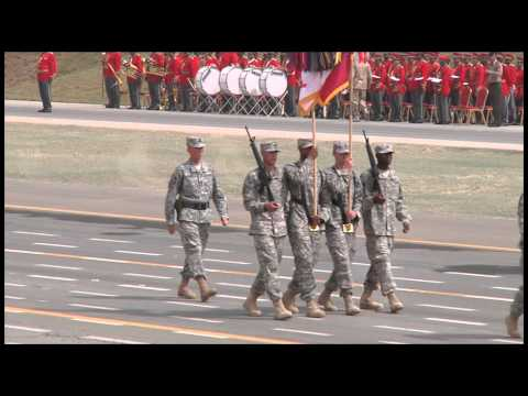 Kuwait Honors Desert Storm Veterans with a Parade