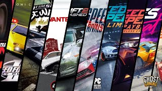 Need For Speed Evolution (1994-2019)