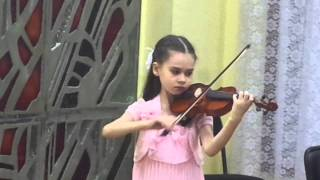 А.Комаровский - Русская песня (скрипка); Диана Субботина