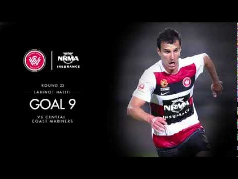 Goal of the Season 9 - Labinot Haliti V Central Coast Mariners