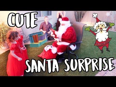 Download Youtube: CUTE SANTA SURPRISE! VLOGMAS DAY 22