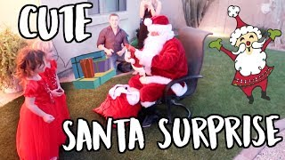 CUTE SANTA SURPRISE! VLOGMAS DAY 22
